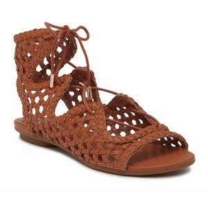 NEW IN BOX JOIE 'Fannie' Leather Gladiator Sandals